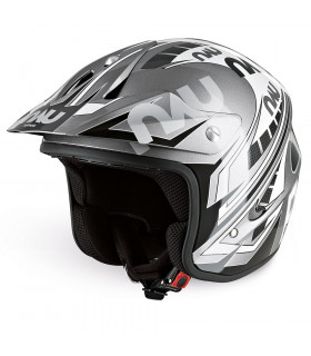 NAU N400 POWER TRIAL HELMET (SILVER/GREY)