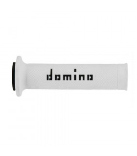DOMINO DUAL COLORED ROAD GRIPS (WHITE/BLACK)