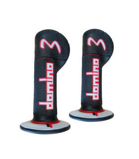 DOMINO EXPERIENCE 3 MX GRIPS (RED/BLACK/GREY)