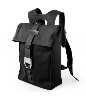 BROOKS INSLINGTON CANVAS RUCKSACK (BLACK)