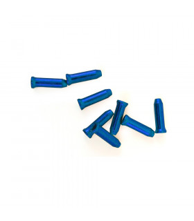 SAPIENCE ALUMINIUM CABLE END  CAP (Blue/100 units)