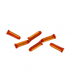 SAPIENCE ALUMINIUM CABLE END CAP (ORANGE/100 UNITS)