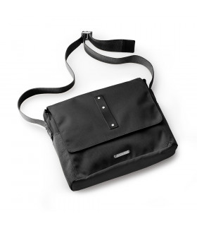 BROOKS EUSTON MEDIUM SHOULDER BAG (BLACK)