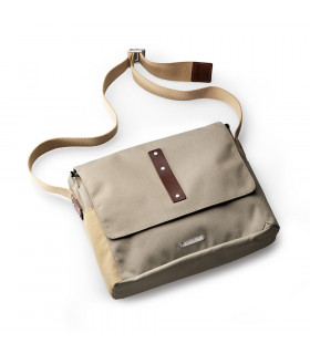 BROOKS EUSTON MEDIUM SHOULDER BAG (DOVE)