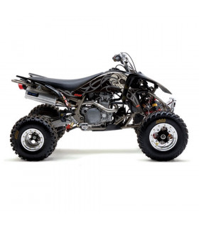 """TATOO BLACK"" GRAPHICS KIT + SEAT COVER QUAD YZF 450"