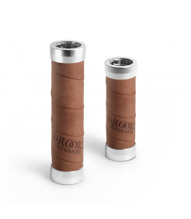 BROOKS SLENDER LEATHER GRIPS (AGED/100 MM-130 MM)