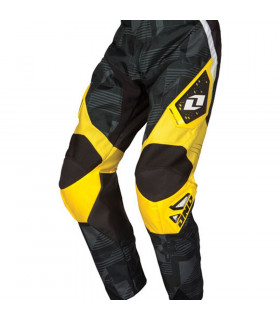 ONE INDUSTRIES CARBON BLOCKY PANTS (BLACK/YELLOW)