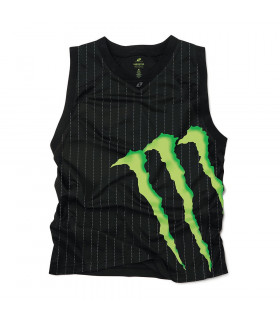 CAMISETA MONSTER MASSIVE SIN MANGAS (NEGRA/TALLA XL)