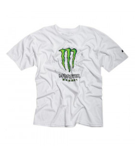 MONSTER BUST IT TEE T-SHIRT (WHITE/SIZE L)