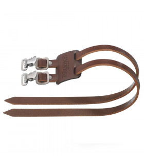 BROOKS TWIN TOE STRAPS  (BROWN)