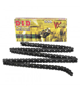 DID  530 VX X-RING CHAIN.  GOLD (110 LINKS)