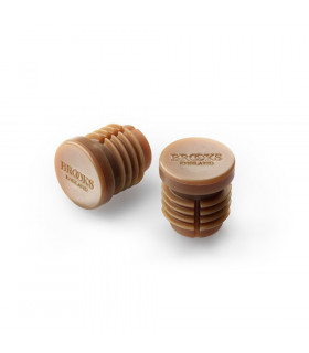 BROOKS RUBBER BAR END PLUGS  (NATURAL)