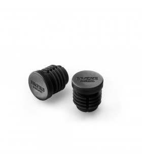 BROOKS RUBBER BAR END PLUGS (BLACK)
