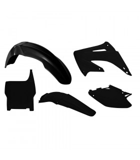 KIT PLASTICOS NEGROS  CR125-250 ' 2004-07