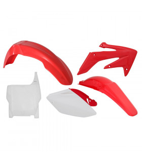 KIT PLASTICOS COLOR ORIGEN  CRF 250 ' 2004-05