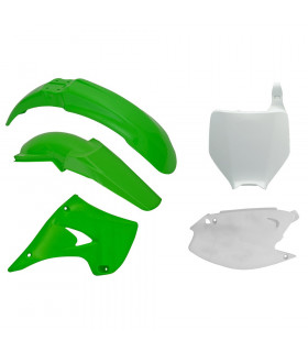 RTECH PLASTICS KIT FOR KAWASAKI KX 125, KX 250 (2003-2008)