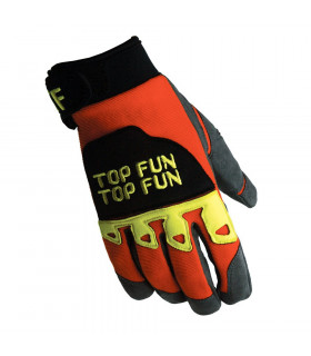 GUANTE TRIAL TOP FUN BASIC ROJO