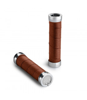 BROOKS CAMBIUM SLENDER GRIPS (RUST/100 MM-100 MM)