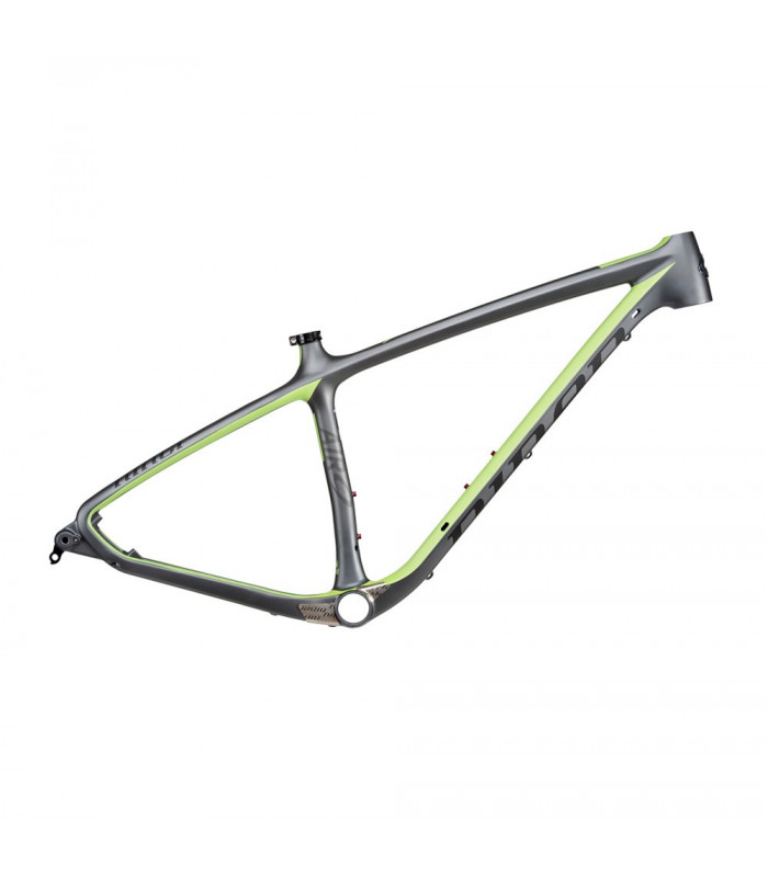 NINER AIR 9 CARBON FRAME (GUN METAL/NINER GREEN)