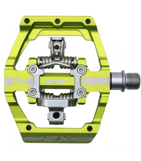HT X2 DOWNHILL PEDAL (APPLE GREEN)